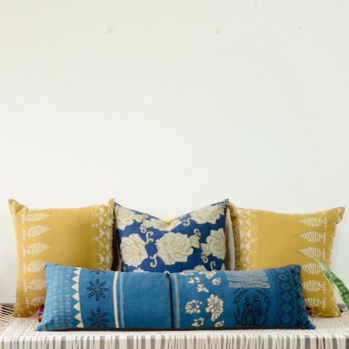 Plant dye Long Body Pillow