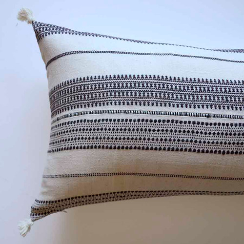 black white decorative pillows