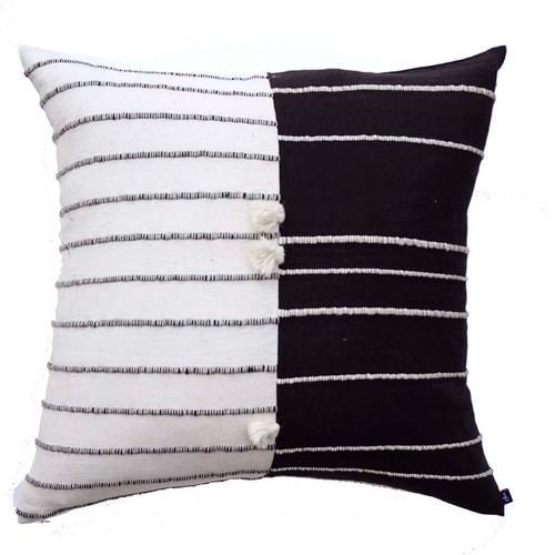 hygge home decor textured pillow