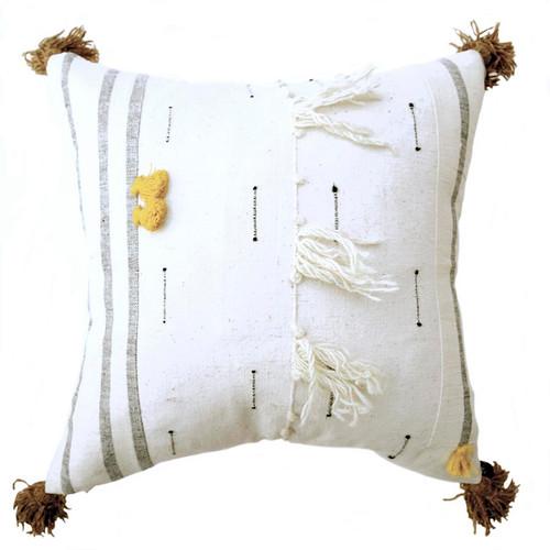 Scandinavian style textured pillow