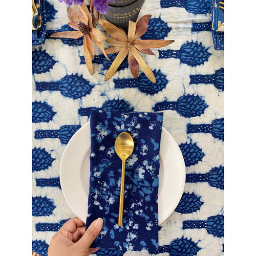 Nilampuri Blue Cloth Napkins