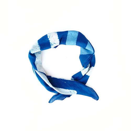 blue stripe bandana