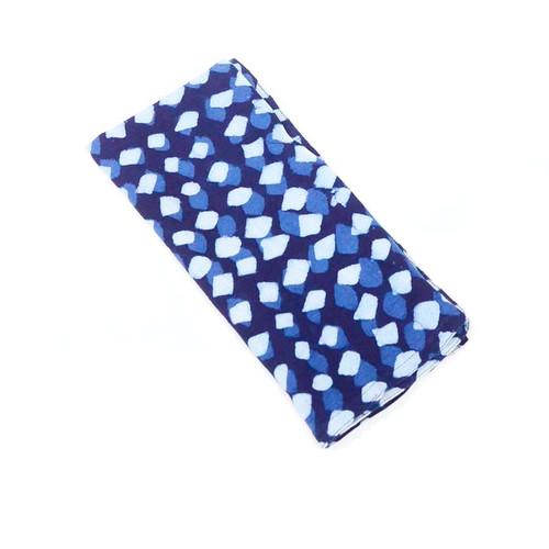 blue eco friendly cloth napkins