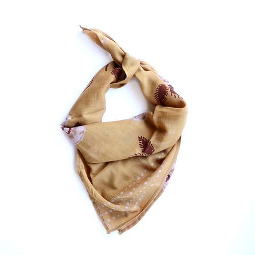 golden mustard bandana
