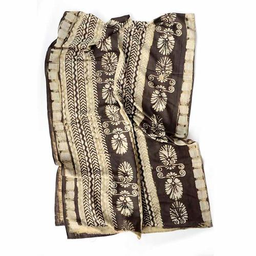 indain block print scarf