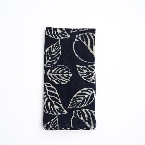 black organic cotton napkins