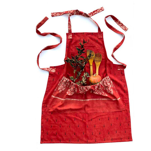 Red Love Apron