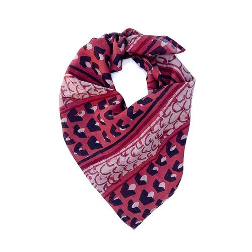 red square bandana