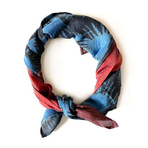 blue black bandana