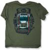 T-Shirt. Backpack Lake