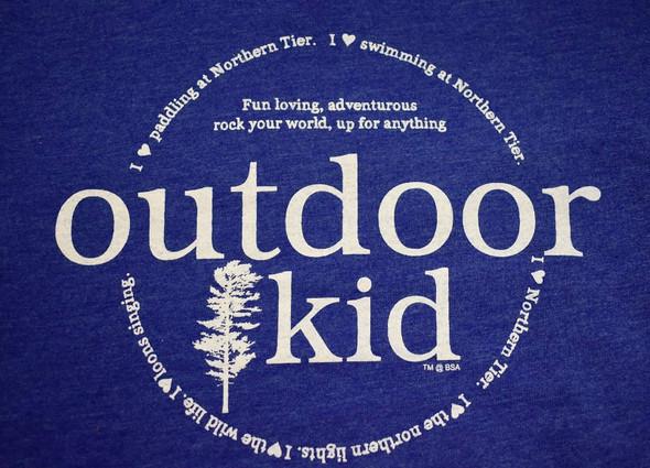 T-Shirt. Outdoor Kid