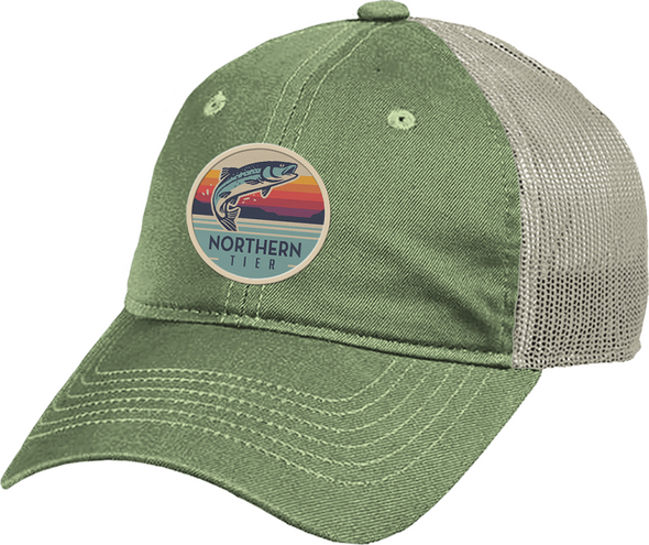 Hat. Cap. Angler Patch