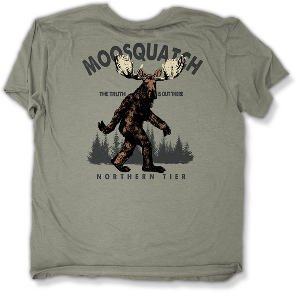 T-Shirt. Moosesquatch