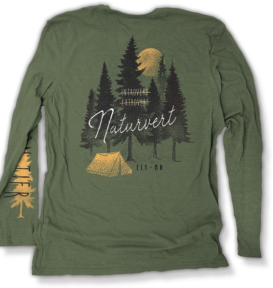T-Shirt. Naturevert Ls