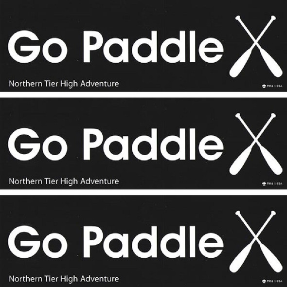 Sticker. Go Paddle