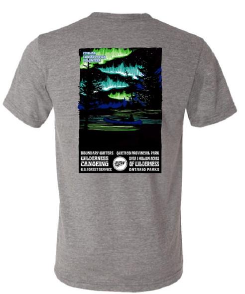 T-Shirt. Oa Lights Scene