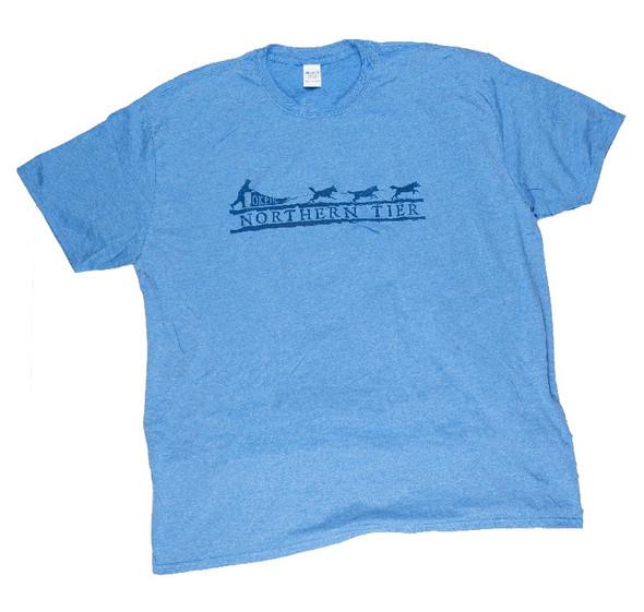 T-Shirt. Faded Dog Sled