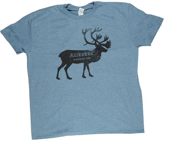 T-Shirt. Faded Caribou