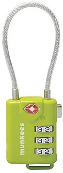 Lock. Cable Combination Lock