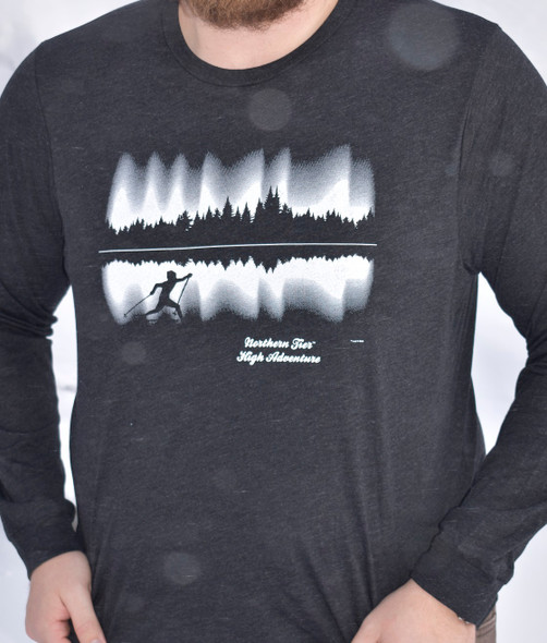 T-Shirt.  Okpik N Lights, Ls