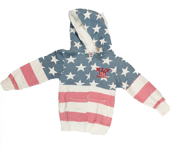 Sweatshirt. American Full Zip