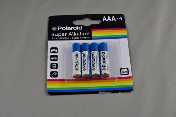 Batteries. Aaa - 4
