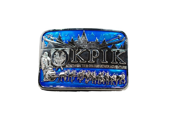 Belt Buckle. Okpik Square