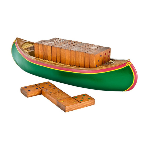Game. Dominoes Canoe