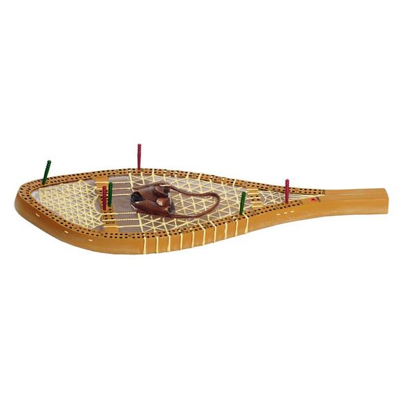 Game. Cribbage Board. Snowshoe