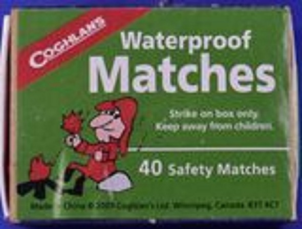 Matches. Waterproof. 1 Pack