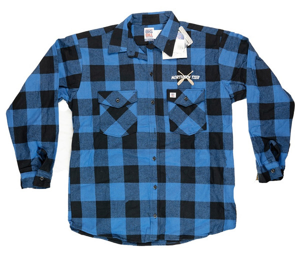 Shirt. Flannel. X Paddle