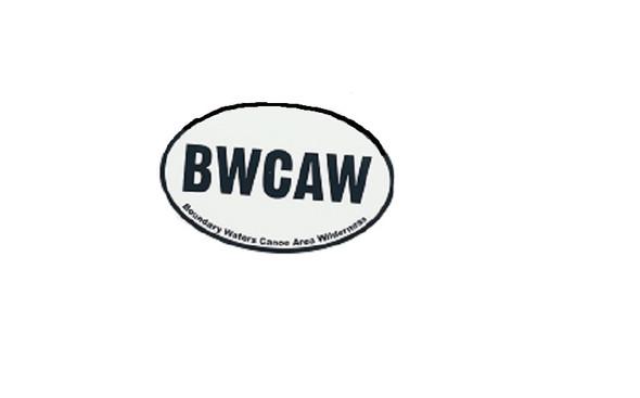 Sticker. Oval. Bwcaw