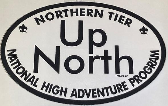 Sticker. Up North