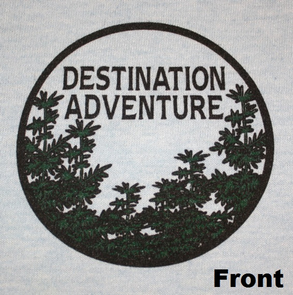 T-Shirt. Destination Adventure