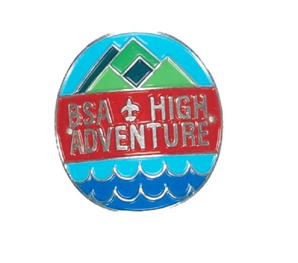 Staff Shield. High Adventure