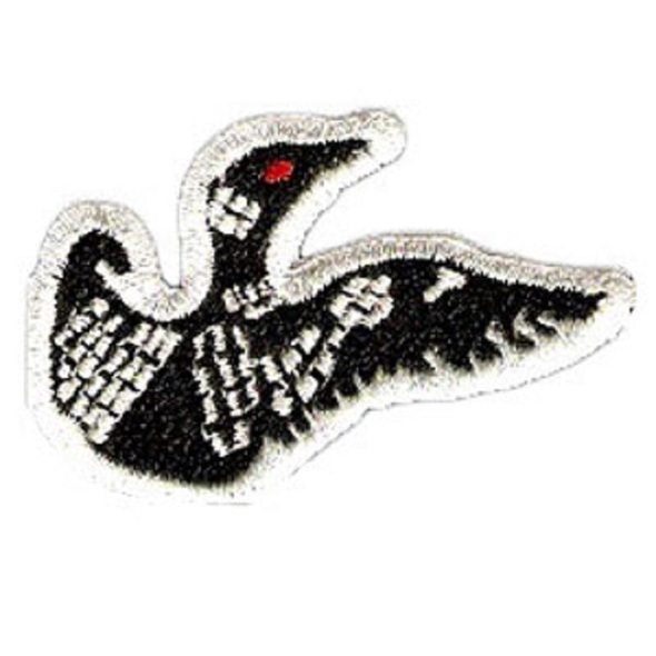 Patch. Loon 2 Inch