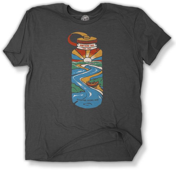 T-Shirt. Nalgene Scene