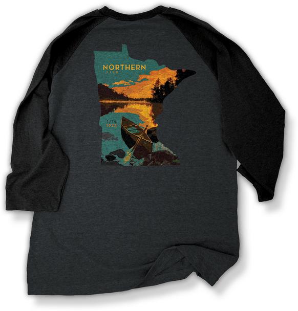 T-Shirt. Minnestoa Map Ls