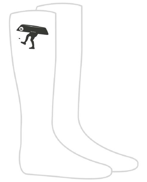 Socks. Canoe Guy