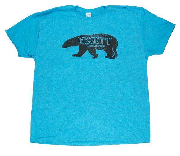 T-Shirt. Faded Polar Bear
