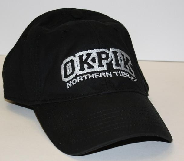 Hat. Nt Okpik. Black. Oilskin