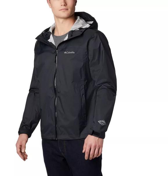 Rain Jacket. Evapouration