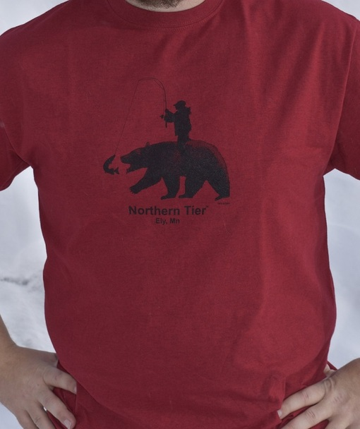T-Shirt. Bear W/ Rider