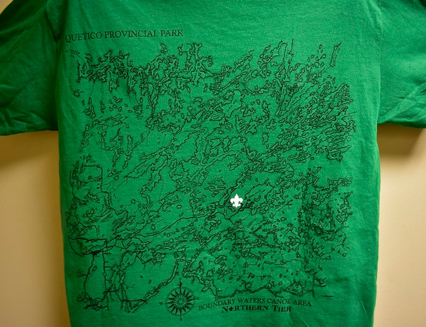 T-Shirt. Cls Map