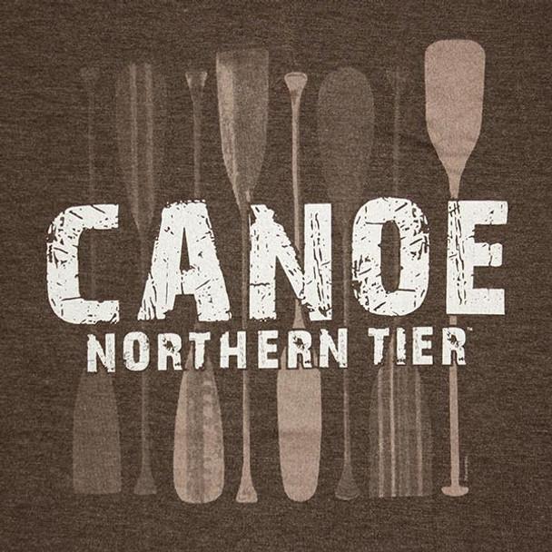 T-Shirt. Paddles Canoe Nt