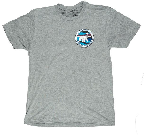 T-Shirt. Bissett Patch Logo