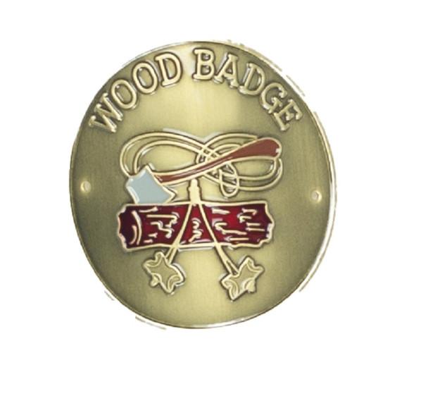 Staff Shield. Woodbadge