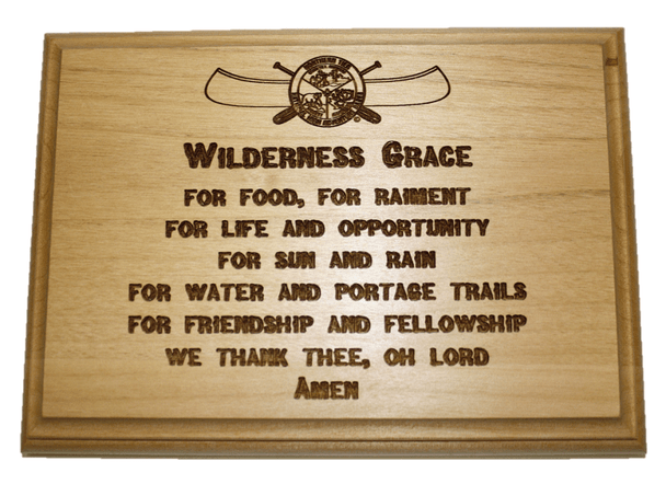 Plaque Wilderness Grace