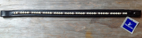 Swarovski Pearl Browband