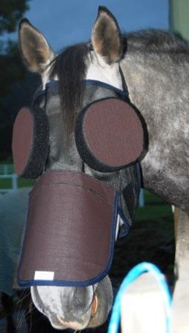 Guardian Paddock Mask with nose cover